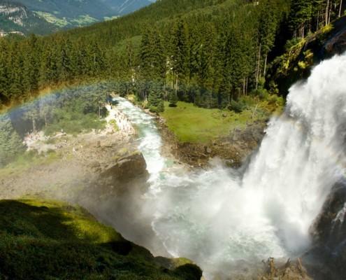 Waterfalls Krimml