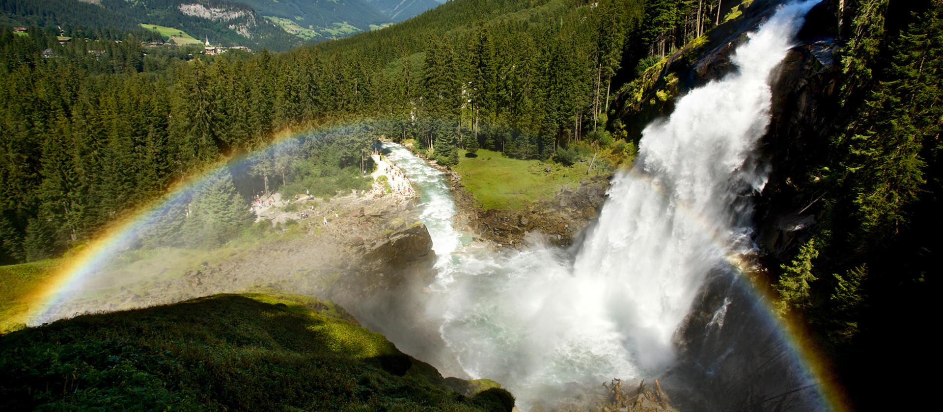 Wasserfälle Krimml