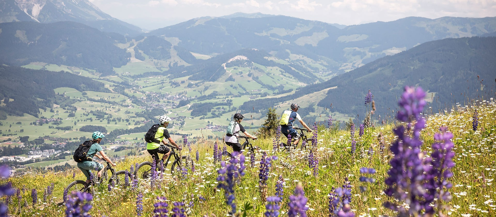 Radtour in Saalfelden