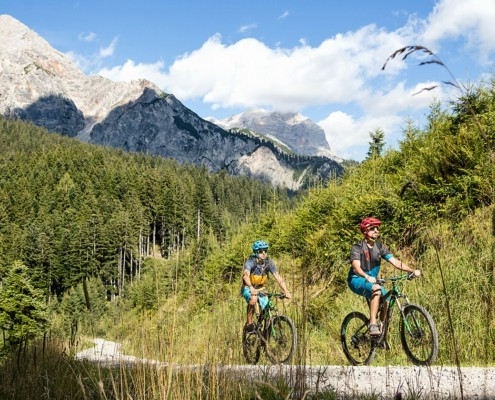 E-MTB Tour in Saalfelden Leogang